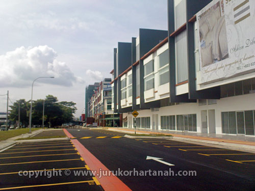 Kipark Business Avenue Shop-office, Jalan Kuching For Sale