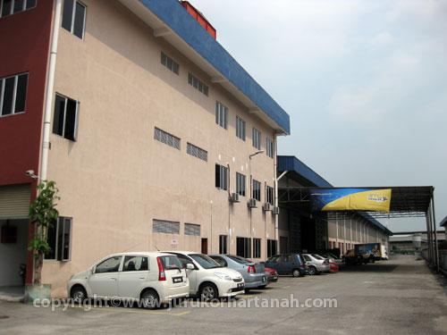 Warehouse, Jalan Subang 9, Taman Perindustrian Subang
