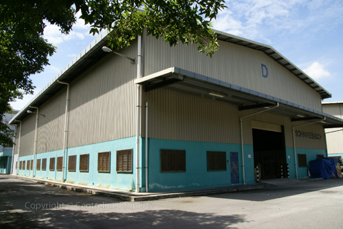 single storey warehouse