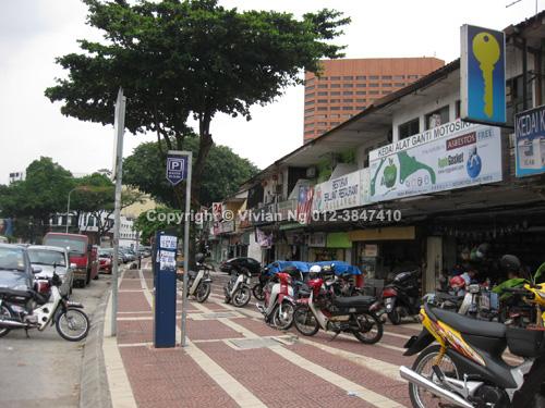 jalan ipoh 2 storey shop