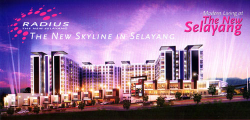 Radius The New Selayang