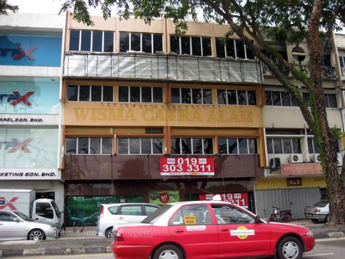 Taman Maluri Shop For Sale