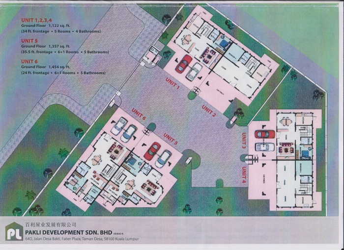 intan villa floor map 1