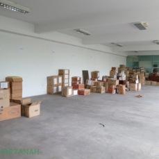 The upper floor office