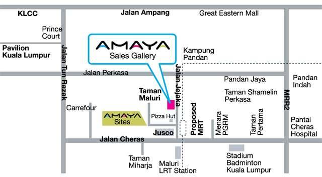 amaya map