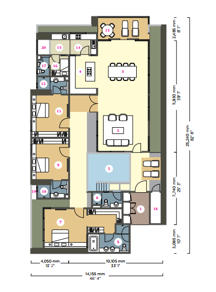 GV 2 floor plan
